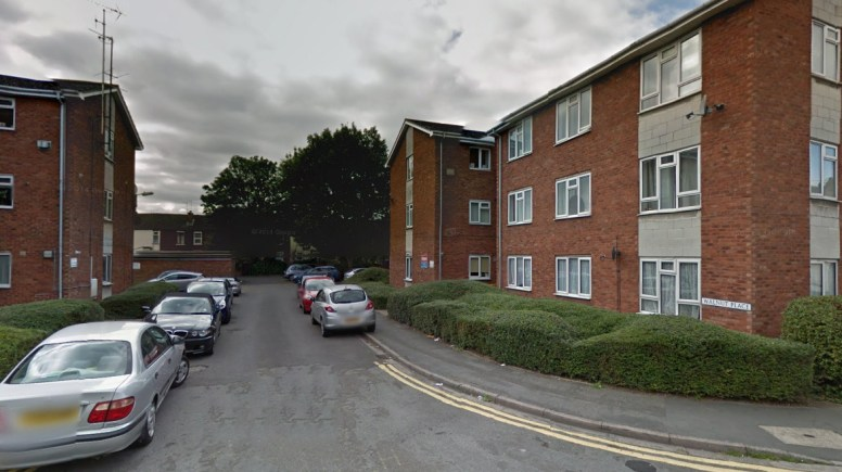 The stabbing occurred in Walnut Place in Lincoln. Photo: Google Street View