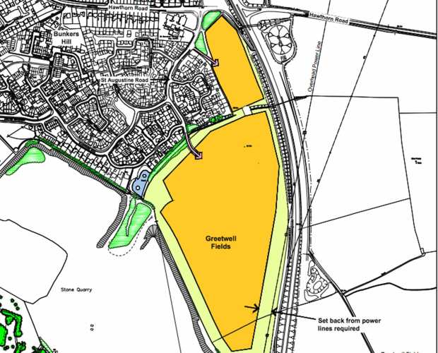 A proposal for up to 500 new homes on the outskirts of Lincoln has been submitted