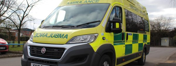 The new ambulances for EMAS