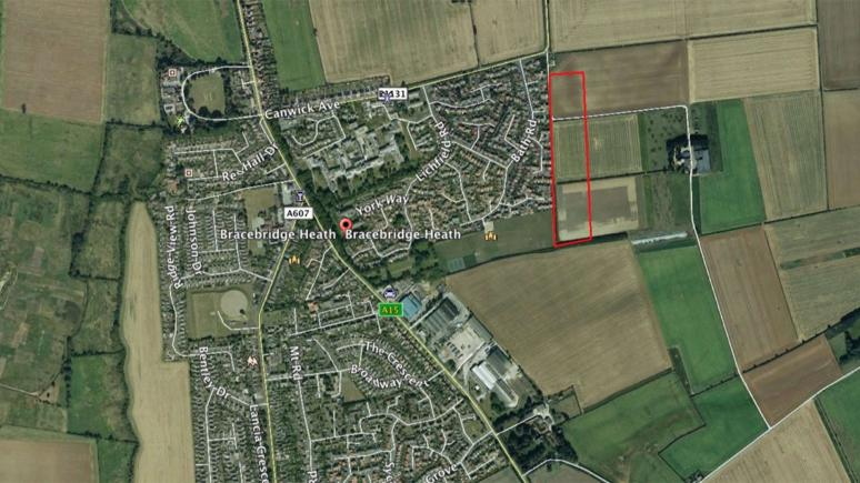 Plans for 120 homes to be built on land off Canwick Avenue have been submitted to North Kesteven District Council