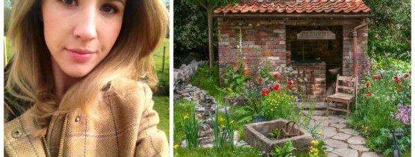 Jodie Fedorko and her prize-winning garden.