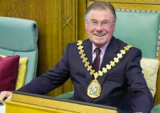 Newly Elected Lincolnshire County Council chairman Councillor William Webb. Photo: LCC
