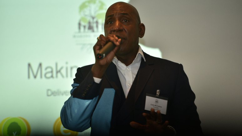 Actor Colin McFarlane, director and trustee of Making History. Photo: Steve Smailes for The Lincolnite