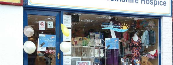 St Barnabas Lincolnshire Hospice's Ruskington store.