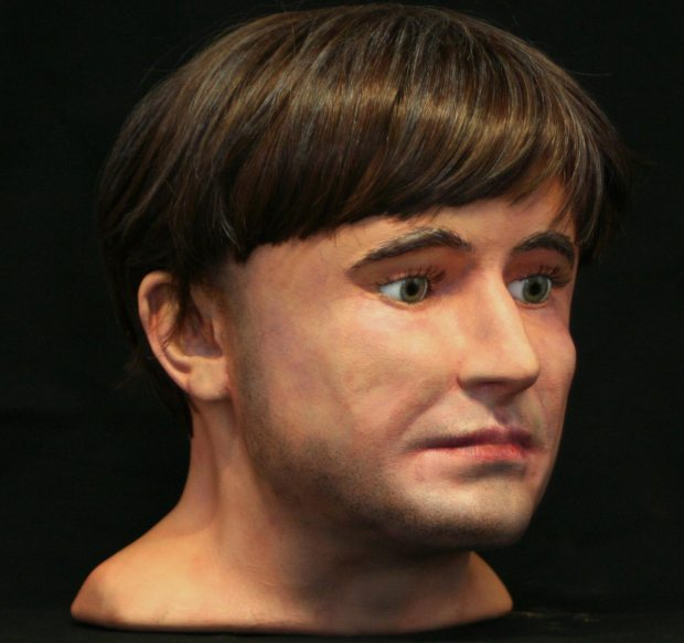 The facial reconstruction of the Anglo Scandinavian man