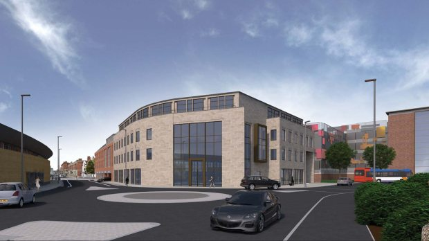 A 1,000 multi-storey car park would stand in place of the current bus station in Lincoln.
