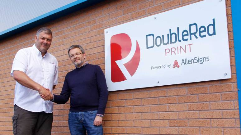 James Wright, former owner of Double Red with David Allen, Allen Signs Managing Director