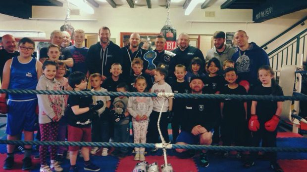 Bracebridge Boxing Club, established in 1976