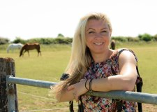 Jodi Huggett gets back on the horse after fighting off cancer