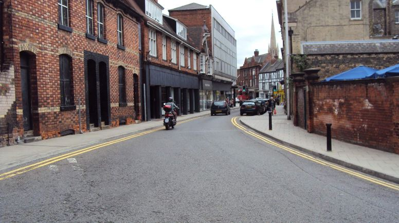 Mint Street in Lincoln
