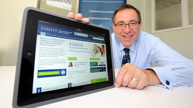 James Pinchbeck, Marketing Partner at Streets Chartered Accountants