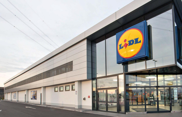An example of how the new Lidl store would look.