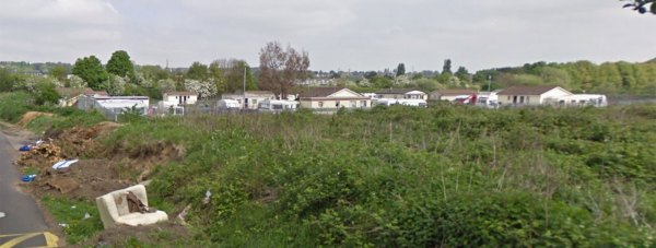 New sites had been allocated at the existing Washingborough Road traveller site in Lincoln. Photo: Google Street View.