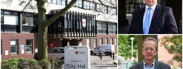 Lincoln MP Karl McCartney and council leader Ric Metcalfe clashed over unpaid council tax