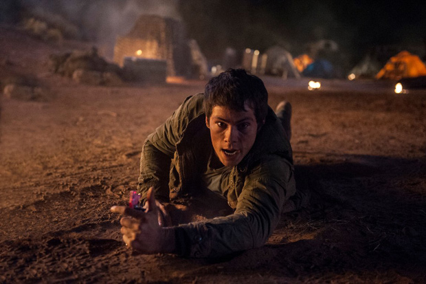 Dylan O'Brien in Maze Runner: The Scorch Trials