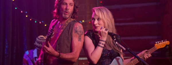 Meryl Streep and Rick Springfield in Ricki and the Flash. Photo: CTMG, Inc