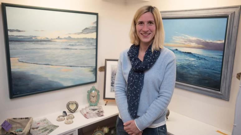 Bluebird Art & Crafts owner Michelle Bird. Photo: Steve Smailes for The Lincolnite