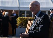 93-year-old veteran Donald Nicholson. Photo: Steve Smailes for The Lincolnite