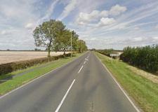 The crash happened on the A607 Harmston. Photo: Google Street View