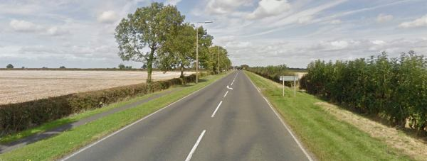 The crash happened on the A607 Harmston. Photo: Google Street View