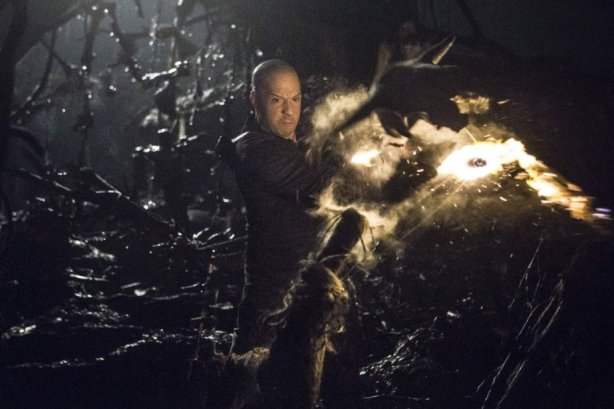 Vin Diesel in The Last Witch Hunter. Photo by Lionsgate.