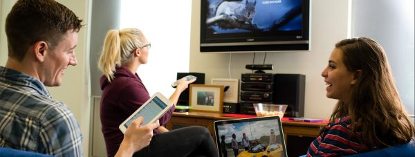 A TV Licence covers you to watch or record live TV, whatever device you're watching on. Photo: TV Licensing
