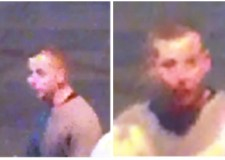 British Transport Police are searching for the man pictured.