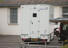 Stewart Greene is being held in custody and was brought in this morning by security van to Lincoln Crown Court.