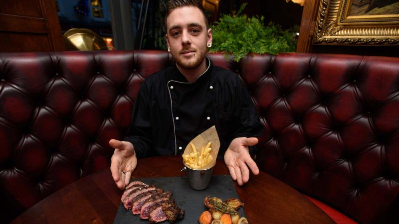 Head chef Tom Rose. Photo: Steve Smailes for The Lincolnite