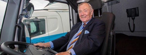 John Clugston, Chairman for Clugston Group has obtained the achievement of a lifetime. Photo: Sean Strange