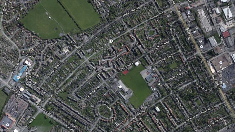 Outer Circle Drive in Lincoln. Image: Google Maps
