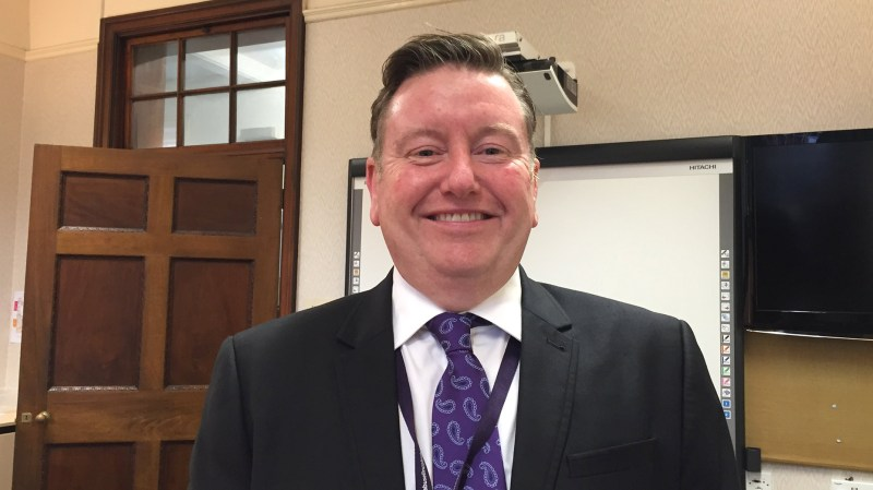 Tony McGinty from Lincolnshire County Council. Photo: The Lincolnite