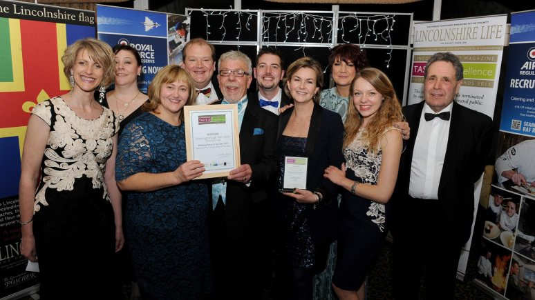 Lincolnshire Wedding Venue of the Year winners Washingborough Hall Hotel