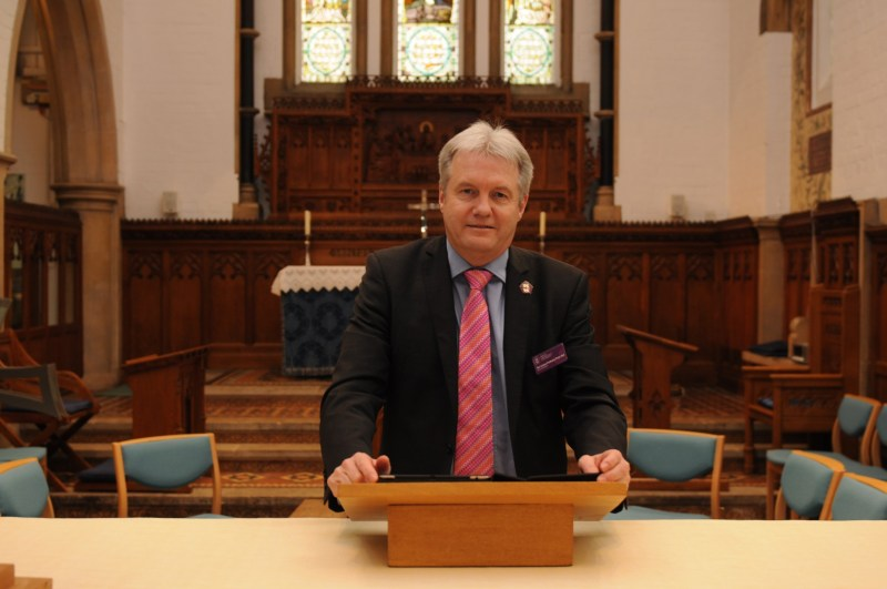 The Rev'd Canon Professor Peter Neil is Vice Chancellor of Bishop Grosseteste University in Lincoln and a Canon of Lincoln Cathedral.
