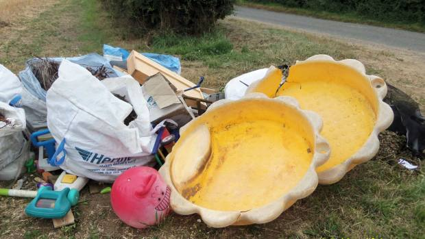 David Cant was convicted of fly-tipping at Lincoln Magistrates' Court on January 14, 2016