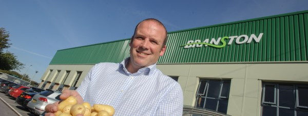 James Truscott Managing Director for Branston Potatoes. Photo: Steve Smailes
