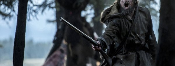 Leonardo DiCaprio in The Revenant. Photo by 20th Century Fox.
