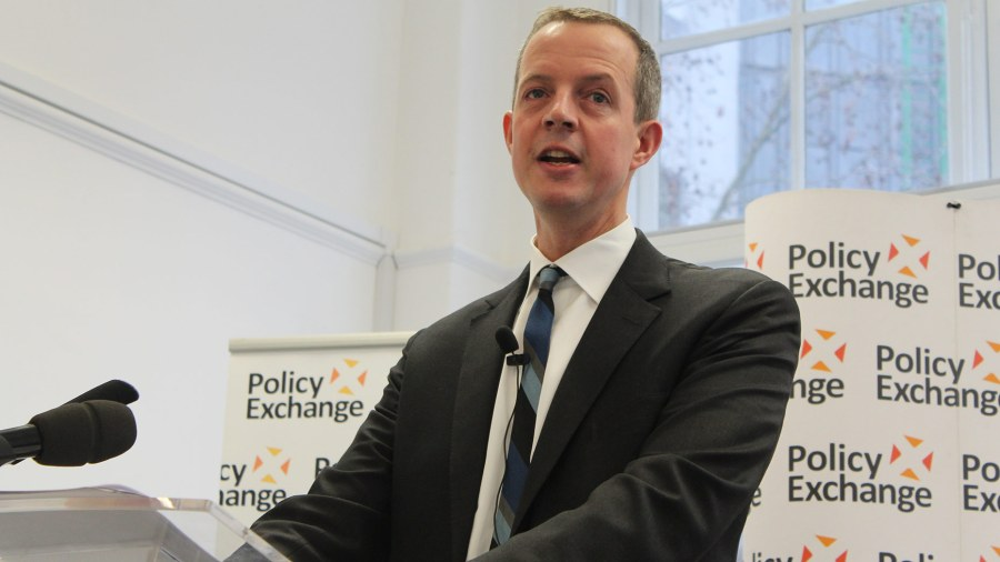 Nick Boles, Conservative MP for Grantham and Stamford. Photo: Policy Exchange