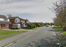 The burglary happened on Sykes Lane in Saxilby. Photo: Google Street View
