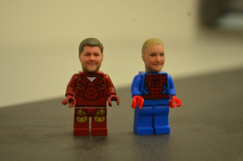 Personalised Lego characters