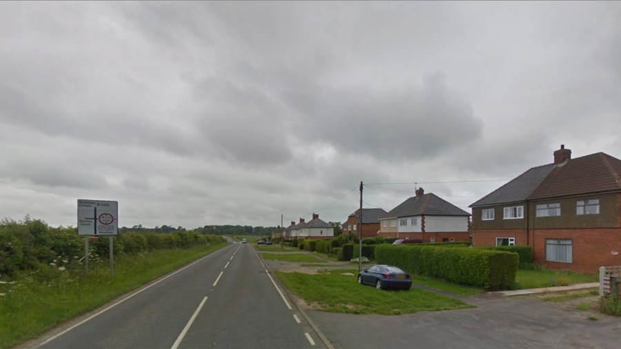 The B1188 at Nocton Top. Photo: Google Street View