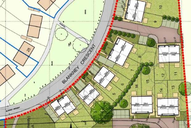 The proposed site plan. Photo: City of Lincoln Council