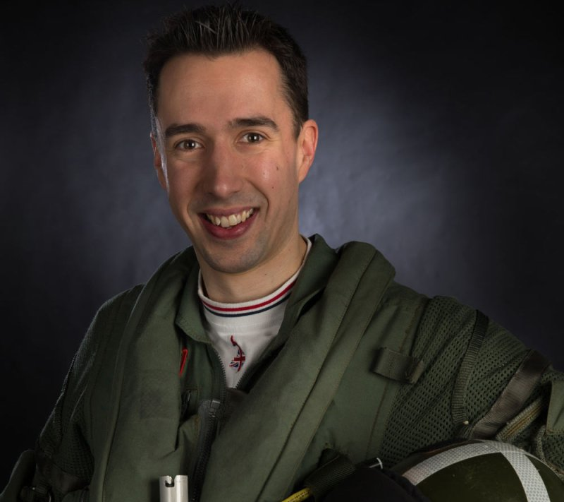 Flt Lt Mark Long has joined the display team at RAF Coningsby. Photo: SAC Jack Welson