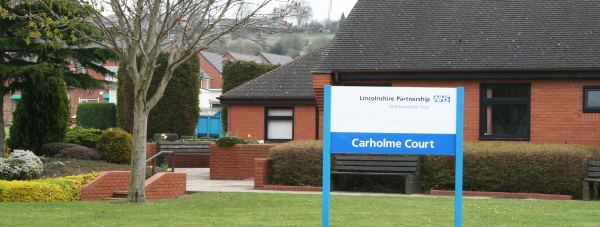 The unit would be installed in an unused ward at Carholme Court on the Lincoln St George's Hospital site. Photo: LPFT
