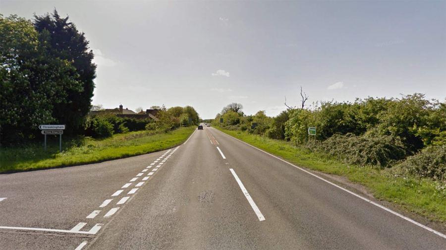The A52 near Threekingham. Photo: Google Street View
