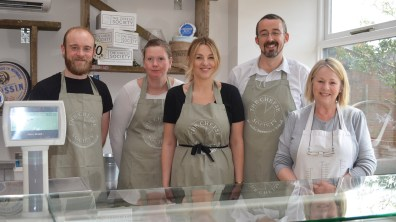 Staff are celebrating the reopening of the cafe and shop on St Martin's Lane. Photo: Emily Norton for The Lincolnite