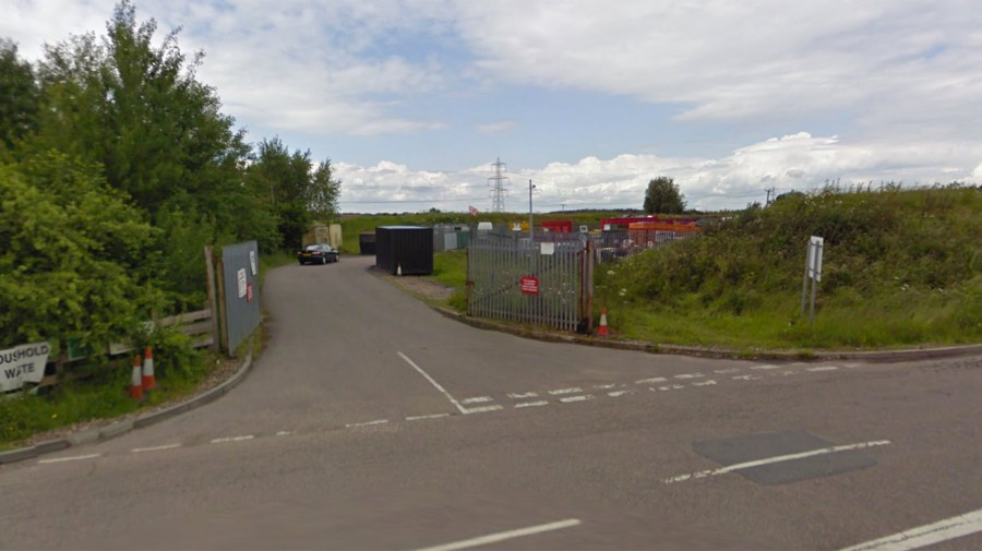 The Whisby waste facility was closed down on March 31.