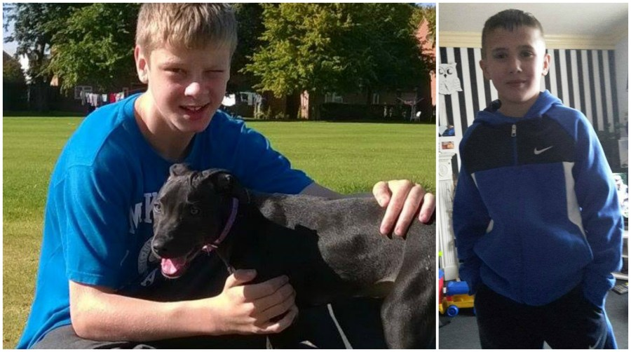 The two boys have been found safe and well.