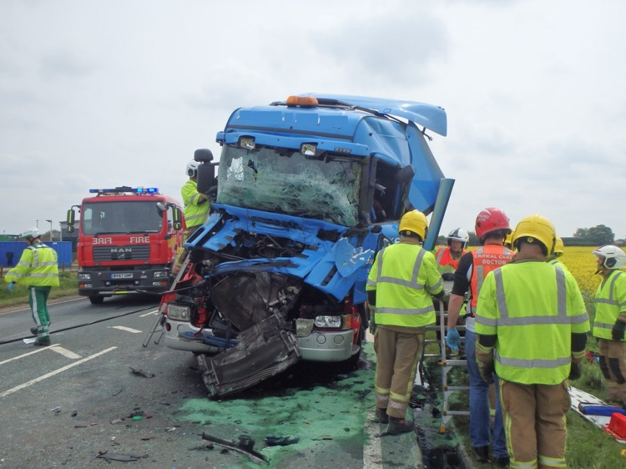 A 56-year-old man remains in a critical condition and another is seriously injured. Photo: Magpas Air Ambulance