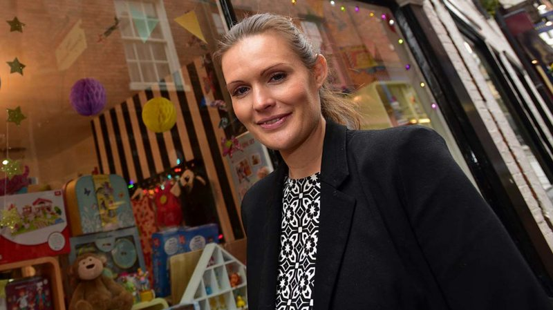 Entrepreneur Lucie Poole. Photo: Steve Smailes for The Lincolnite